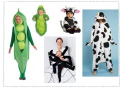 3 Fun Ideas for Mom & Baby Halloween Costumes