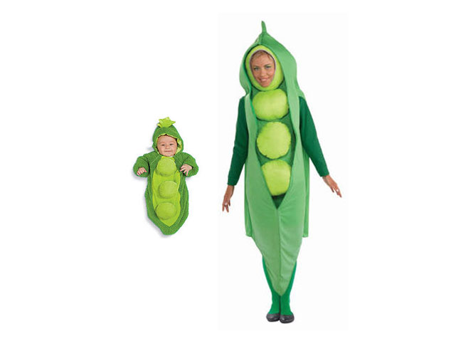 nothing is cuter than your own little pea in a pod unless you add yourself to the equation to make the two of you an duo