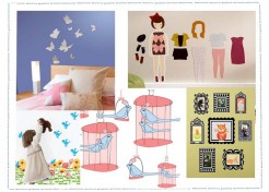 Girly Girl Room Style Goes Sticky