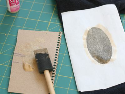 Gold Patches - Step 4