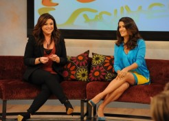 Salma Hayek Talks Motherhood With Rachael Ray