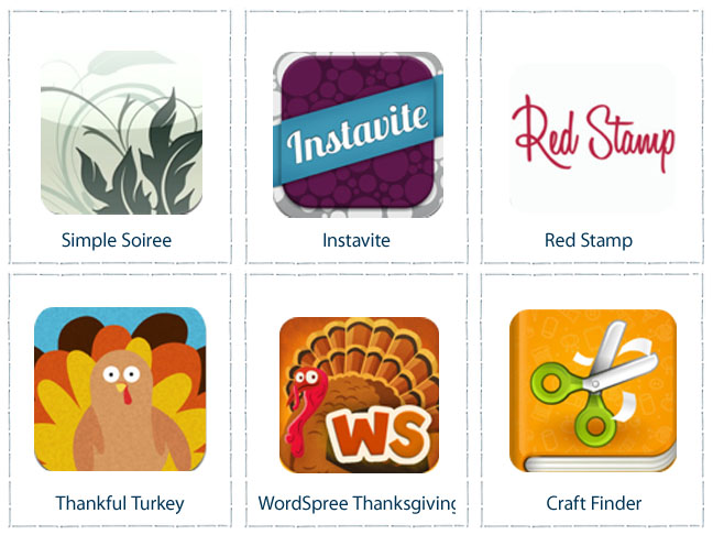 Apps For Thanksgiving Entertaining