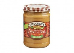 Smucker's Recalls Natural Chunky Peanut Butter