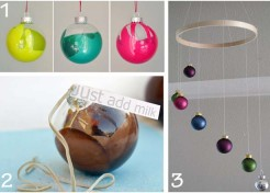 5 DIY Ball Ornament Projects