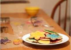 Making Less Mess Cookies For Santa