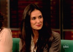 Report: Demi Moore Hospitalized For Inhaling Nitrous Oxide