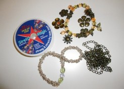 Beadwork for Beginners: Bead and Woven Chain Bracelets