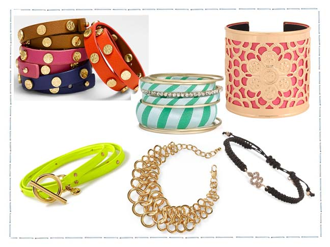 Stacked Bracelets Look Hot For The Season