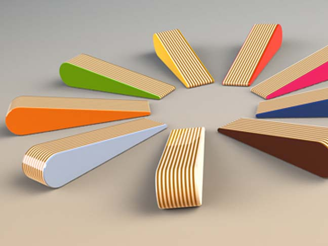 These Doorstops Use The Same Great Materials And Colors From The Furniture  Collection, Available For $24 From The WEAMO Website.