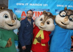 Photos: Celebrity Families Celebrate The DVD Release Of 'Alvin & The Chipmunks: Chipwrecked'