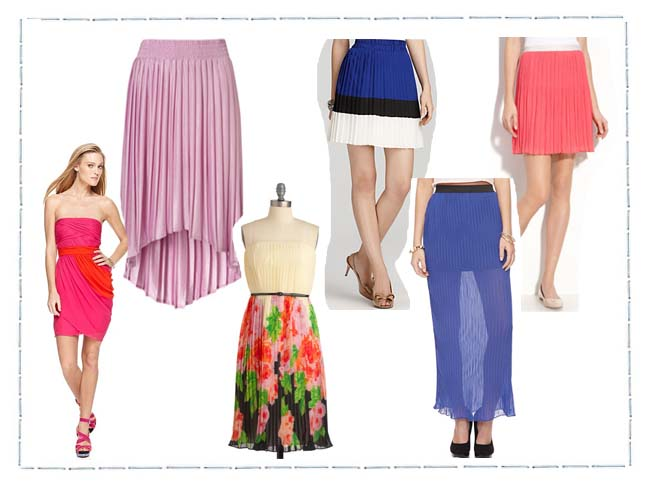 Pretty Pleats For Spring