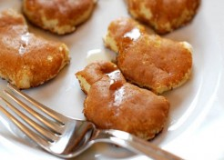 Chick Cream Cheese Pancake Bites
