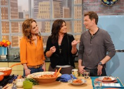 Giada De Laurentiis And Bobby Flay Talk Family And Food With Rachael Ray