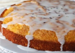 Mother's Day Cornmeal Cake