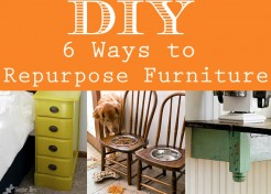 6 Creative Ways To Repurpose Furniture