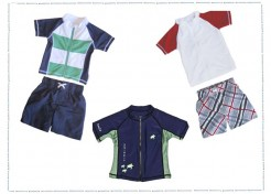 SwimZip: Practical, Safe and Adorable Swimwear for Boys