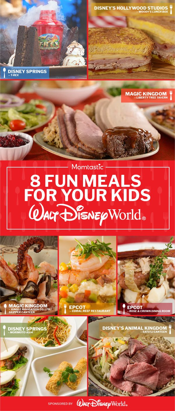8 Fun Meals For Your Kids at Walt Disney World