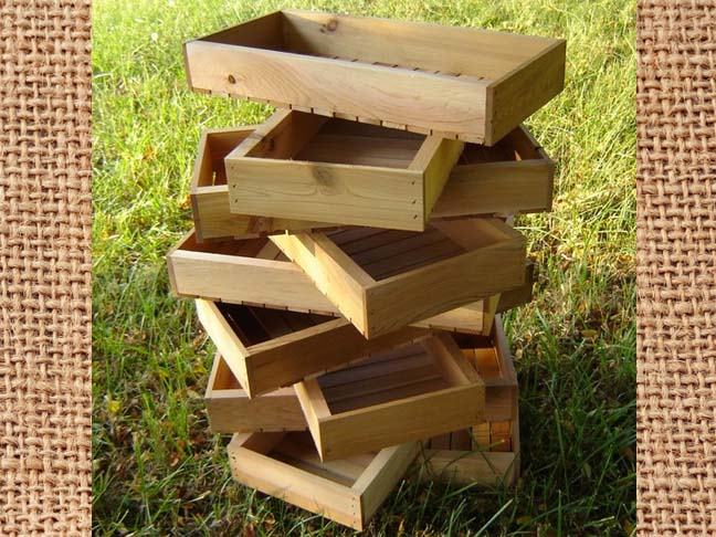 Start Your Own Family Gardening Tradition With These Cool Wooden Seed Trays  That Can Be Used Season After Season And Could Also Work Great As A  Fatheru0027s Day ...