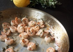 10 Minute Dinner: Lemon Oregano Shrimp