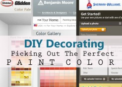 Decorating: Picking Out The Perfect Paint Color