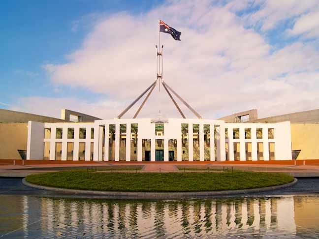Canberra Parliment Building
