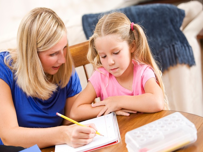 Get Your Child Organised for Getting Homework Done