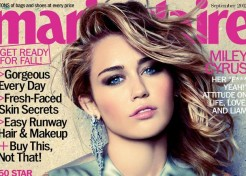 Miley Cyrus Dishes On Her Engagement In Marie Claire's September Issue