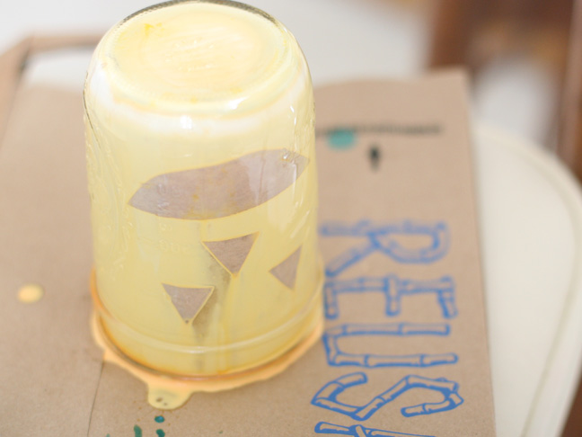 Pumpkin Mason Jars DIY Craft - Step 9