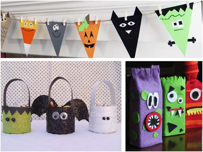 kid halloween craft