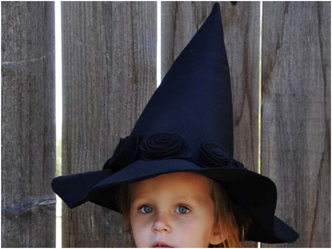 Witch Hat DIY Costume - Final