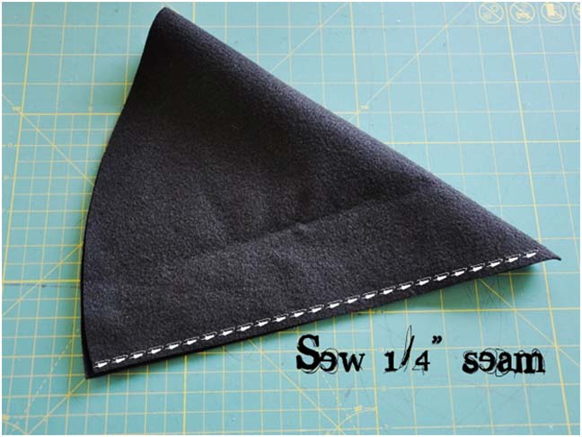 Witch Hat DIY Costume - Step 4