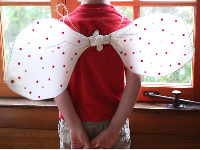 How to make butterfly costume wings - photo#17
