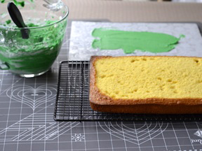 Frankenstein Cake Recipe - Step 7