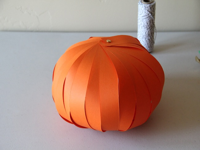 Pumpkin Lantern DIY Craft - Step 5