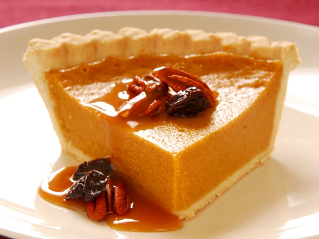 Salted Caramel Pumpkin Pie Recipe
