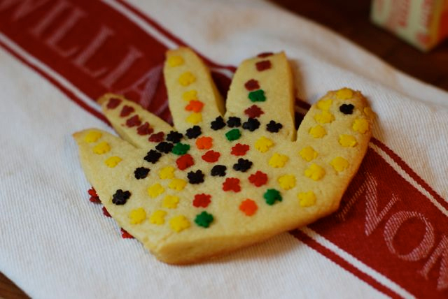 Turkey Hand Cookie Recipe