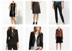 Must Have (Faux) Leather Looks