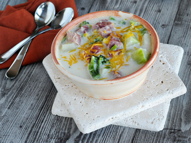 Ham, Corn, Potato Chowder Recipe