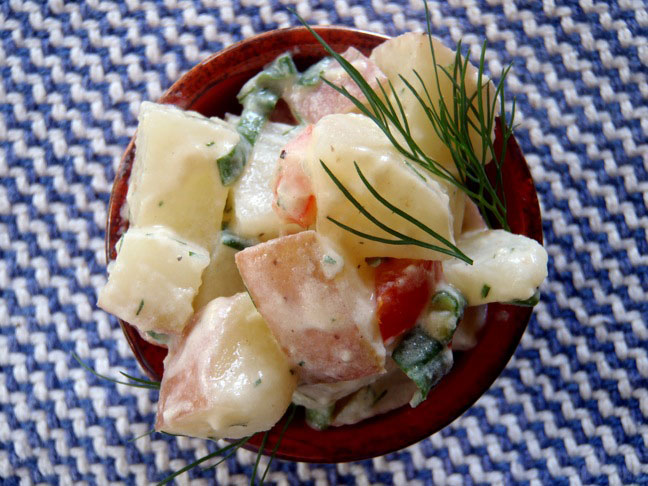 Dill Potato Salad Recipe