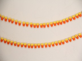 Candy Corn Garland DIY Final