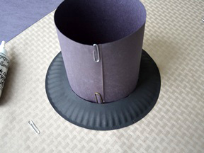 Pilgrim Hat Craft - Step 8