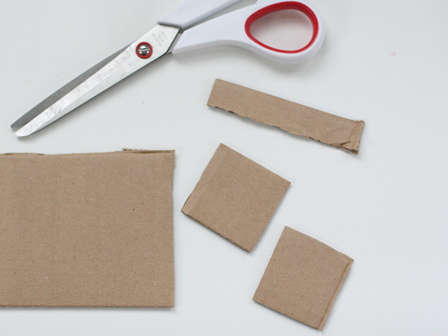 DIY Chalkboard Gift Tags Step 1
