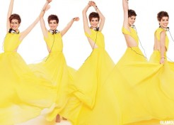 Anne Hathaway Explains 'One Billion Rising' And Talks Les Miserables In Glamour