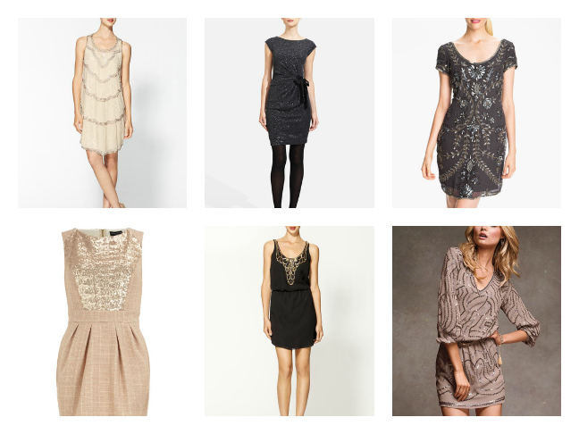 Shopping for Holiday Party Dresses