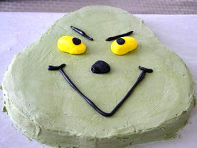 Grinch Cake Recipe - Step 19