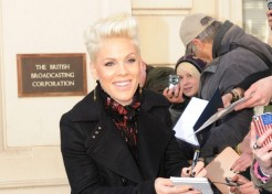 Singer Pink Says She Gained 60 Pounds While Pregnant With Willow; Raged Against Everyone