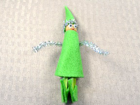 Homemade Elf Ornament - Step 11