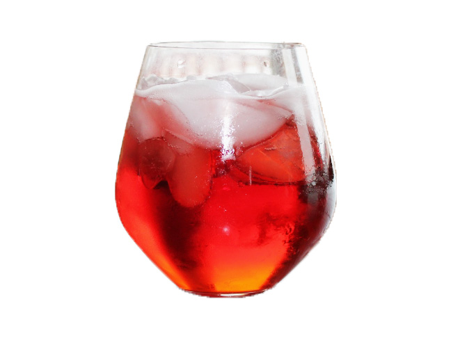 shrub spritzer strawberry rose spritzer a berry minty spritzer simple ...