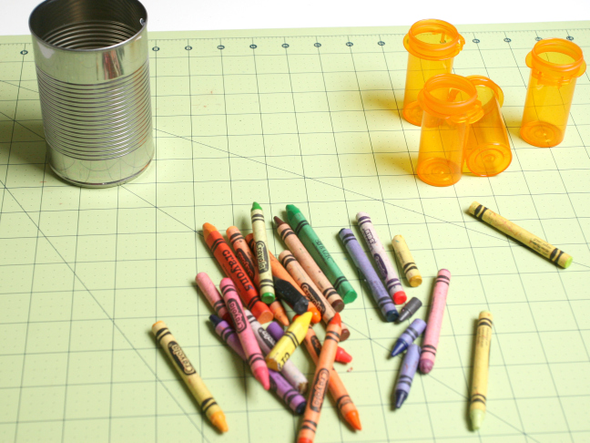 Homemade Crayons - Supplies