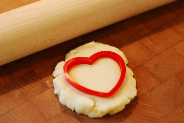 Heart-Shaped Linzer Cookies - Step 6